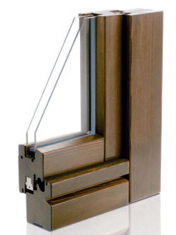 finestre in legno Italica