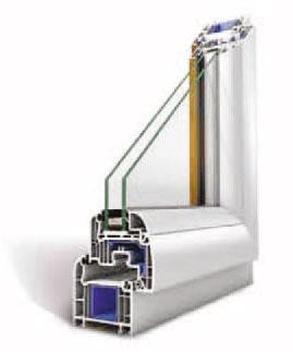 serramenti pvc Oknoplast Platinum Plus