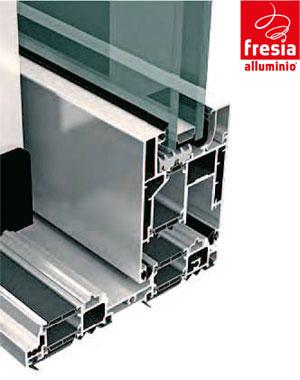 Serramenti in alluminio mendrisio svizzera canton ticino - Particolare costruttivo finestra ...
